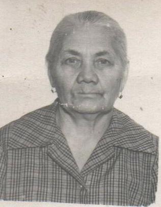 Шубина Мария Гавриловна