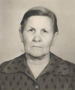Шибанова Ефросинья Кузьмовна