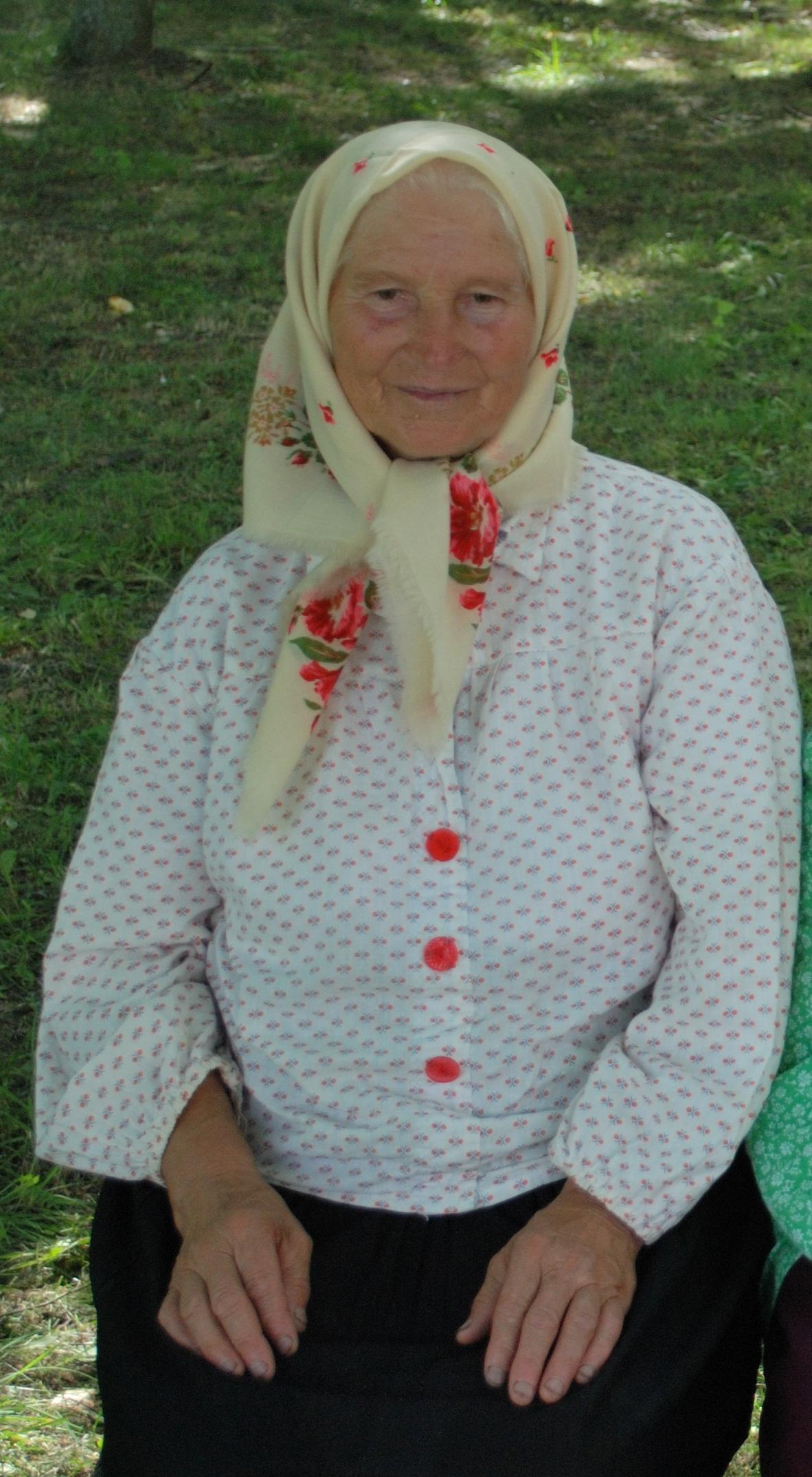 Гуща (Ефименко) Нина Ивановна