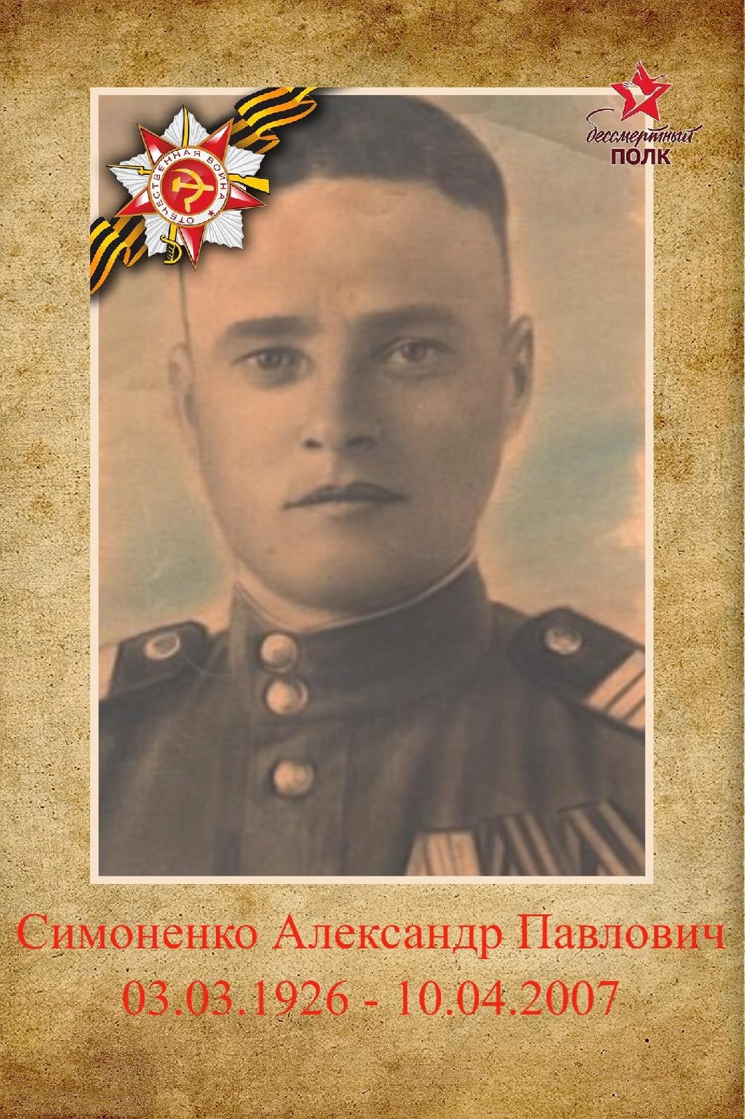 Симоненко Александр Павлович